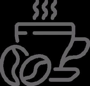 Verse koffie icoon