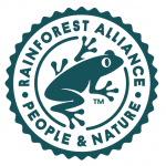 Rainforest Alliance People & Nature logo