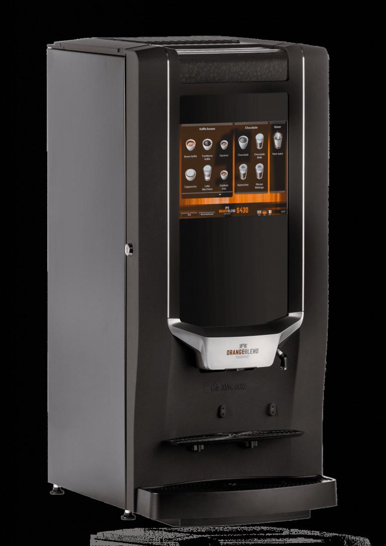 S430 koffiemachine van Orange Blend