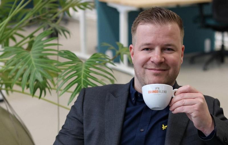 Mayk Vousden - account manager Orange Blend