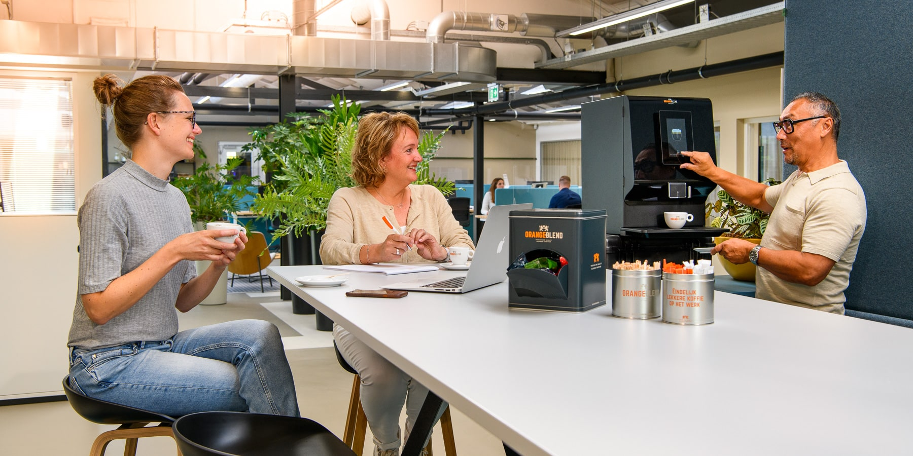 Koffiemachine voor kleine bedrijven