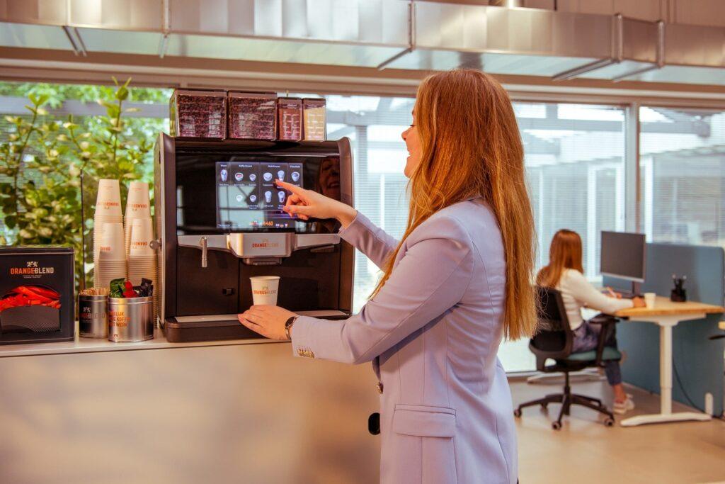 Zakelijk koffiezetapparaat