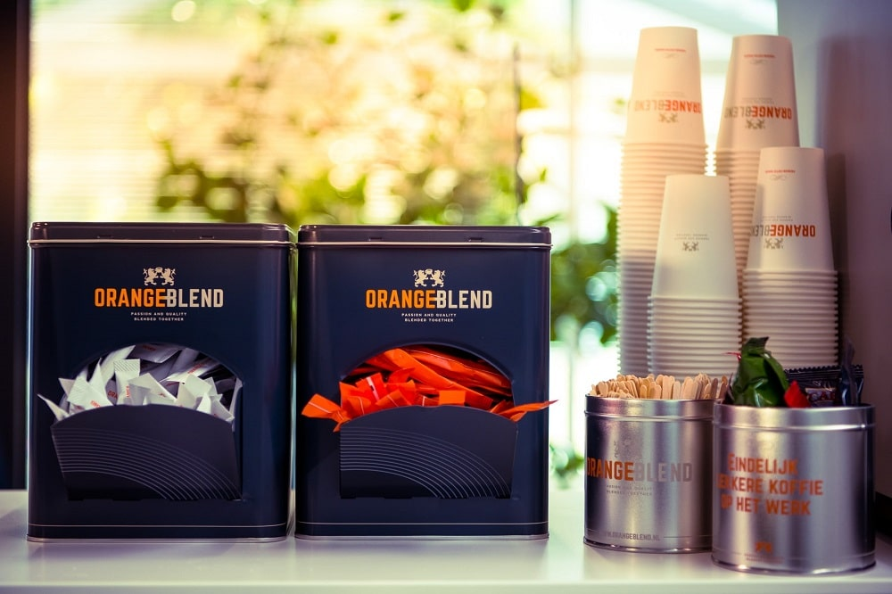Koffie toebehoren van Orange Blend
